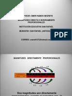 MAGNITUDES DIRECTA E INVERSA.ppt
