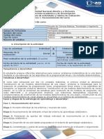Guia de Actividades y Rúbrica de Evaluación - Fase 1 - Reconocimiento Del Curso