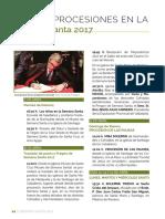 Medina Rioseco Actos y Procesiones de Semana Santa 2017