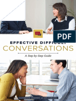 Effective Difficult Conversations a Step-By-Step Guide