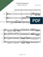 Sonata Al Santo Sepolcro - Vivaldi