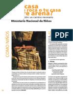 Tu Casa Sobre Roca o Sobre Arena Revista Nuevo Pentecostes 141pginas Desde141-Np Jul-Ag 12