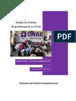 Modelo de La Práctica Preprofesional de La UNAE