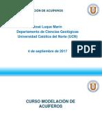 01. Clase 04 Septiembre 2017. Presentacion Modelación Acuiferos_04092017