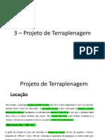 3 – Projeto de Terraplenagem.pptx