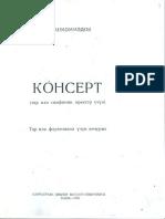 _Konsert-Tar ucun(H.Hacixan_Memmedov)(Baki-1955)