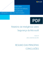 Microsoft Security Intelligence Report Volume 14 Key Findings Summary Brazilian Portuguese (1)