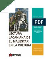 Lectura Lacaniana de El Malestar en La Cultura
