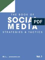 The Book of Social Media Strategies Tactics Vol. 1 TOC