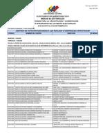 Portuguesa, talleres de formación de miembros y secretarios de mesa