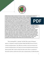 Maryland Stadium Authority and Economic Development Report