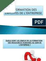 La Formation Des Employes de l'Entreprise
