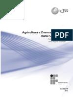 Agricultura e Desenvolvimento Rural Sustentável