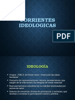 Corrientes Ideológicas
