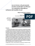 Reflexiones en torno a la presencia de instrumentos musicales aerófonos andinos en contextos educativos urbanos del ámbito local