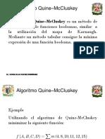 Minimizacion Quine McKluskey