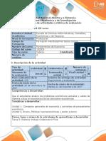 Guía de Actividades y Rubrica de Evaluación Tarea 5 - Fundamentos de Economía