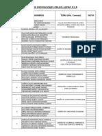 Temas de Exposiciones Grupo Acero g1 b