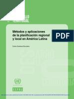 CEPAL Desarrollo Territorial