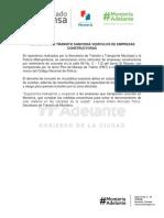 08-11-2017 SECRETARÍA DE TRÁNSITO SANCIONA VEHÍCULOS DE EMPRESAS CONSTRUCTORAS