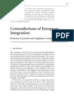 Bruno Carchedi and Guglielmo Carchedi, Contradictions of European Integration
