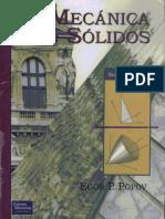 Mecánica de Sólidos. Egor Popov. 2da Ed. 2000