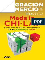 2016 China LAT Revista-Integracion-BID Varios Articulos