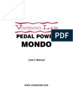 Pedal Power Mondo Manual
