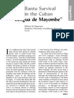 Lengua de Mayombe