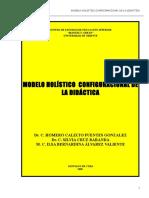 MODELO HOLÍSTICO  CONFIGURACIONAL DE LA DIDÁCTICA