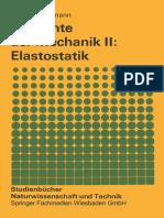 (Studienbücher Naturwissenschaft und Technik) Theodor Lehmann (auth.)-Elemente der Mechanik II_ Elastostatik-Vieweg+Teubner Verlag (1984)