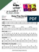 Beginners Pop Songs - (The Guitar Club Ltd London UK) theguitarclub@hotmail.co.uk.pdf