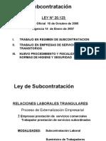 Ley Subcontratacion..