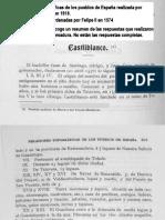 CASTILBLANCO en las Relaciones Topográficas de los Pueblos de España,  hechas por orden de Felipe II en 1574