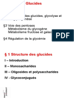 2009 P1 Physiologie Feugeas 1 Glucides Structures