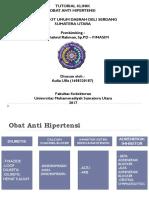 Ppt Obat Hipertensi FIX