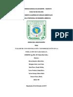 Taller de Concientización y Sencibilización en La Población de Naranjillo