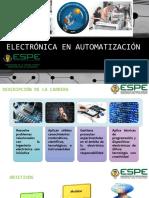 Electrónica en Automatización y Control