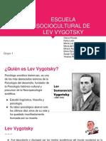 Escuela Sociocultural de Lev Vygotsky