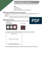 PSR-S670 Firmware Installation En