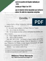 TORRECILLA DE LOS ÁNGELES en las Relaciones Topográficas de los Pueblos de España,  hechas por orden de Felipe II en 1574