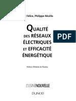 Qualité Des Réseaux Électriques Et Efficacité Énergétique