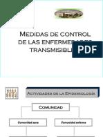 Medidas de Control de Las Enfermedades Transmisibles