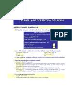 Plantilla de Correccion Del Millon-II(Mejorada)1
