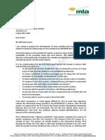 MLA Letter 2