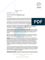 AWI letter