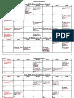 Calendario Litúrgico Católico 2018
