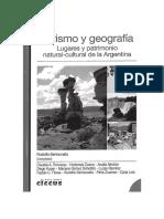 Bertoncello - Turismo y Geografía - InTRODUCCION