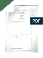 Maths Form 4 Term 1 Mid Term 2011