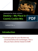 Discover your Destiny – My Place in the Cosmic Cookie_Lesson 4